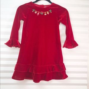 Good Lad Girl's size 6 Christmas party dress